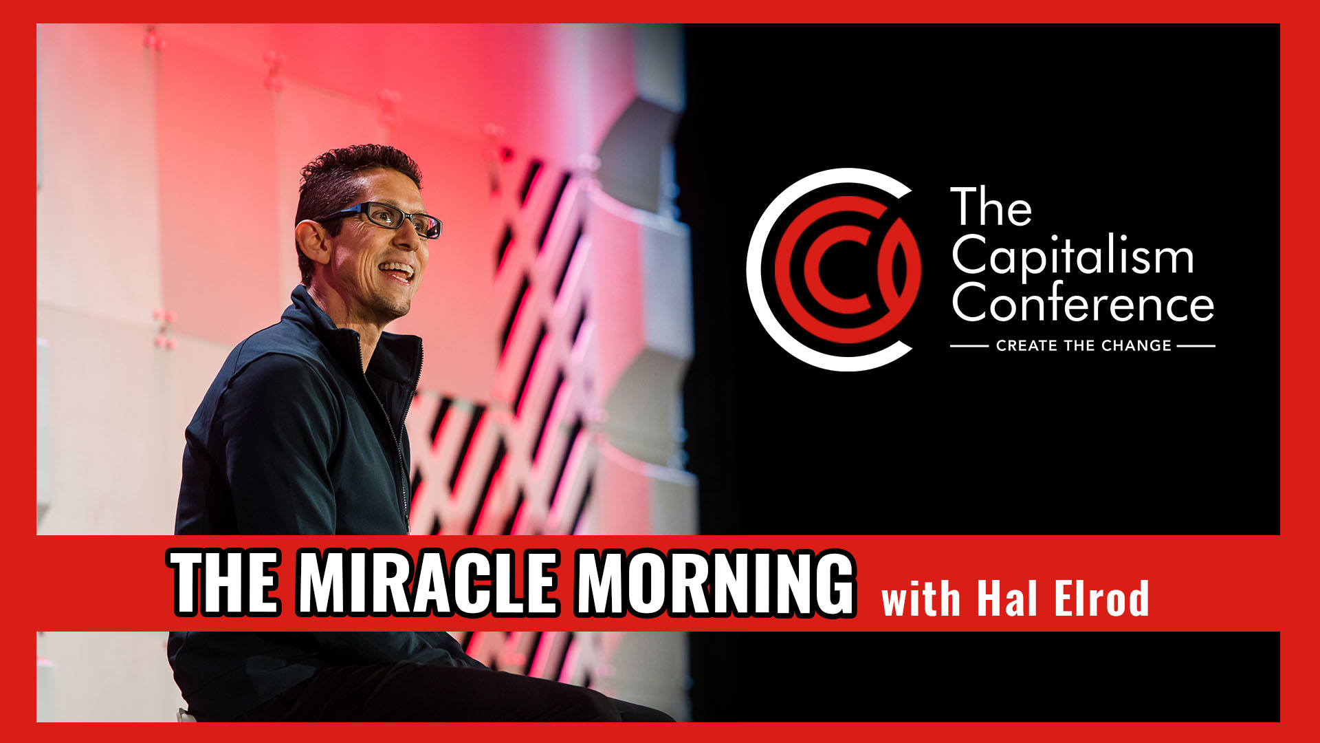 mindset, hal elrod, miracle morning, successful people, capitalism conference, capcon